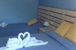accommodation nostos hotel bed