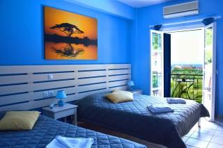 accommodation nostos hotel bedroom