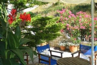 facilities nostos hotel garden area
