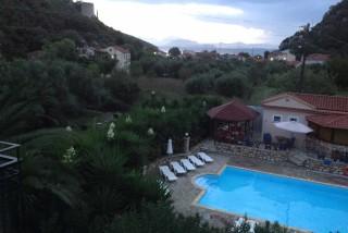 facilities nostos hotel pool view
