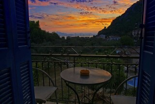 gallery nostos hotel ithaca romantic sunset