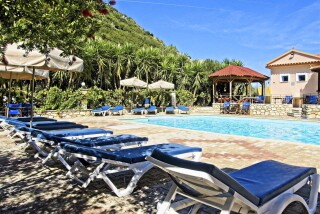 ithaca hotel nostos in greece